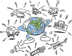 la pollution sonore.