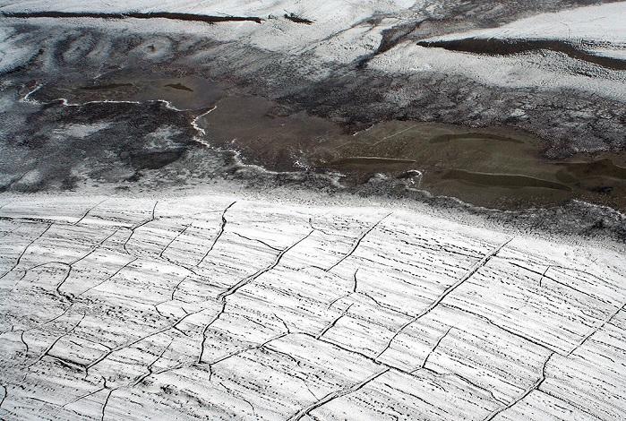 La fonte du permafrost.